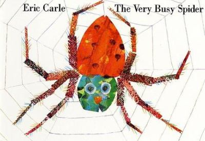 The very busy spider image cover