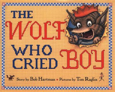 The Wolf Who Cried Boy image cover