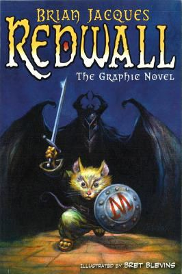 Redwall : the graphic novel / by Brian Jacques ; illustrated by Bret Blevins ; adapted by Stuart Moore ; lettering by Richard Starkings. image cover