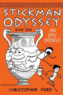 Stickman Odyssey. Book One, An Epic Doodle  image cover