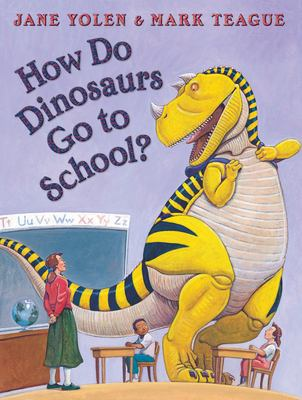 How Do Dinosaurs Go to School?  image cover