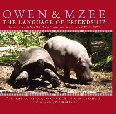 Owen & Mzee : the language of friendship image cover