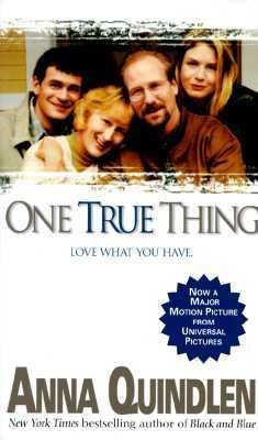 One True Thing  image cover