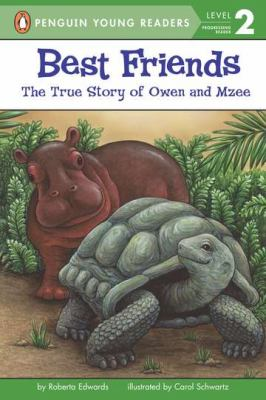 Best friends : the true story of Owen and Mzee image cover