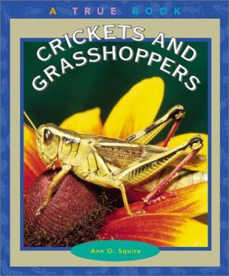 Crickets and grasshoppers image cover