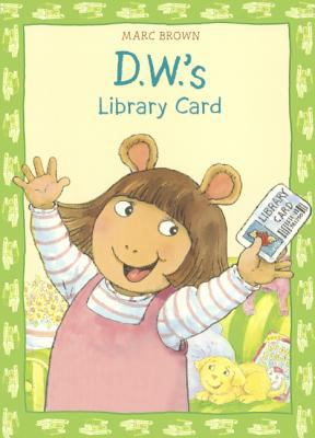 D.W.'s library card image cover
