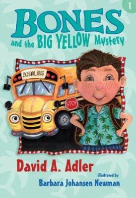 Bones and the big yellow mystery image cover