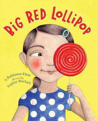 Big red lollipop image cover
