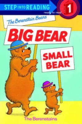 The Berenstain Bears big bear, small bear image cover