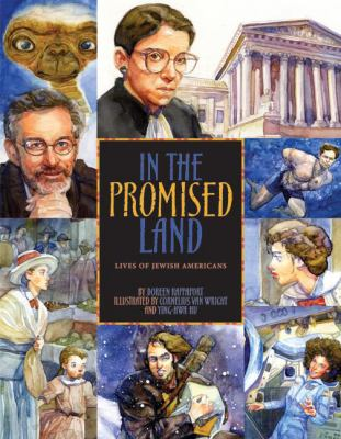 In the promised land : lives of Jewish Americans image cover
