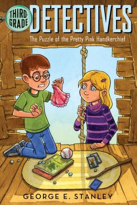 The Puzzle of the Pretty Pink Handkerchief image cover