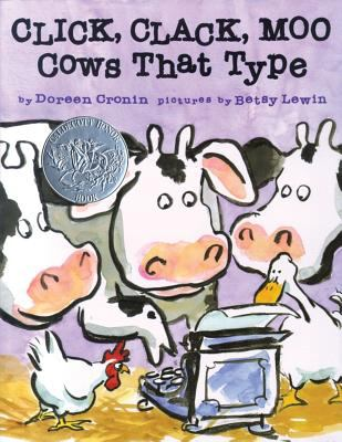 Click, clack, moo : cows that type image cover