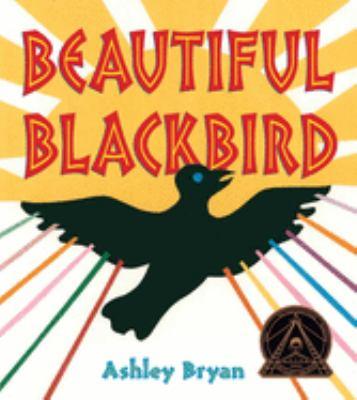 Beautiful blackbird image cover