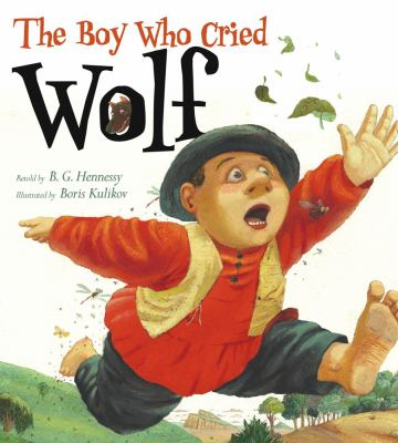 The Boy Who Cried Wolf  image cover