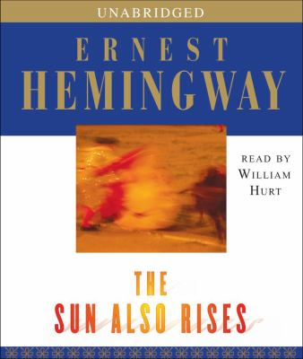 The Sun Also Rises  (read by William Hurt) image cover