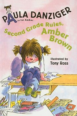 Second grade rules, Amber Brown image cover