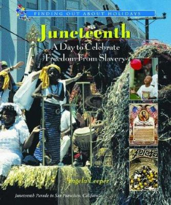 Juneteenth : a day to celebrate freedom from slavery image cover
