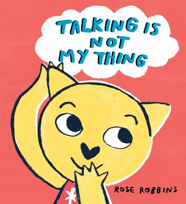Talking is not my thing image cover