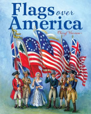 Flags Over America: A Star-Spangled Story image cover