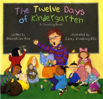 The Twelve Days of Kindergarten  image cover