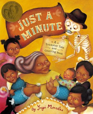 Just a Minute: A Trickster Tale and Counting Book image cover