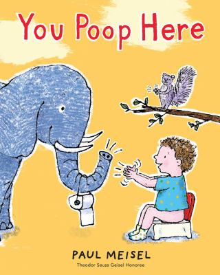 You poop here image cover