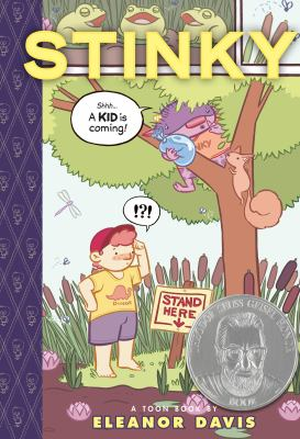 Stinky : a toon book  image cover