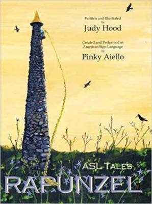 ASL tales, Rapunzel image cover