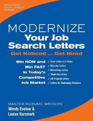 Modernize your job search letters : get noticed ... get hired image cover