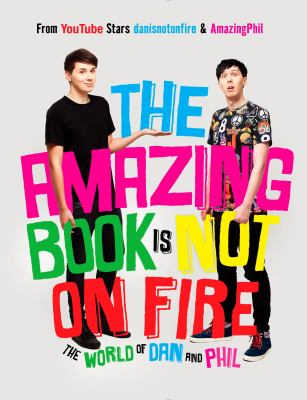 The Amazing Book Is Not on Fire image cover