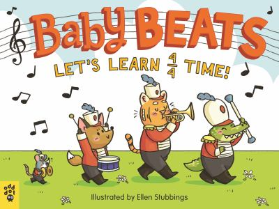 Baby beats : let's learn 4/4 time! image cover