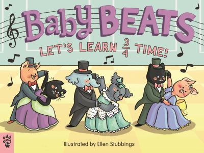Baby Beats : let's learn 3/4 time! image cover
