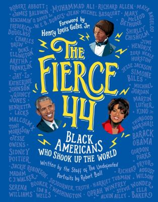 The Fierce 44: Black Americans Who Shook Up the World image cover