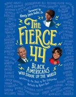 The fierce: 44 black Americans who shook up the world image cover