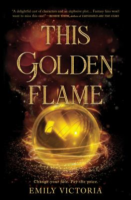 This Golden Flame image cover