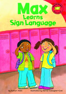 Max learns sign language  image cover
