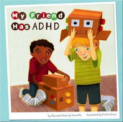 My Friend Has ADHD  image cover