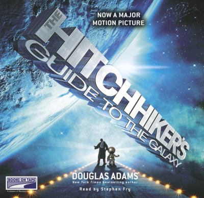 The Hitchhiker's Guide to the Galaxy  (read by Stephen Fry) image cover