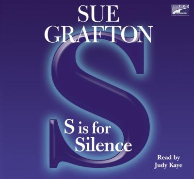 S is for Silence  (Narrator: Judy Kaye) image cover