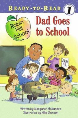 Dad goes to school image cover
