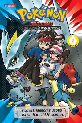 Pokémon Adventures: Black 2 & White 2, Volume 1 image cover