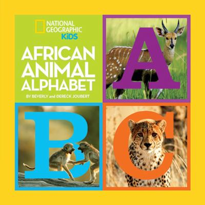 African Animal Alphabet image cover