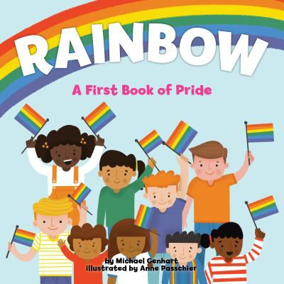 Rainbow : A First Book of Pride image cover