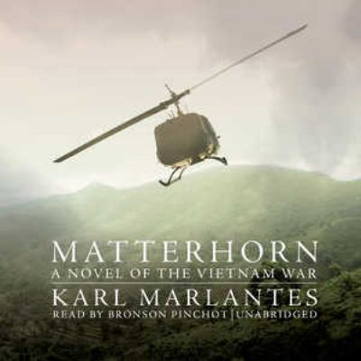 Matterhorn  (read by Bronson Pinchot) image cover