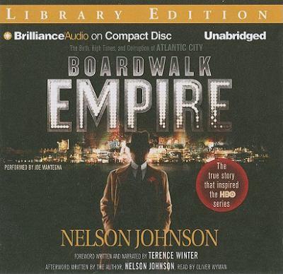 Boardwalk Empire  (read by Joe Mantegna) image cover
