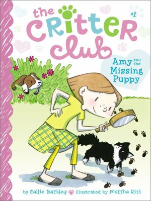 The Critter Club: Amy and the Missing Puppy image cover