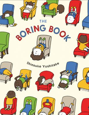 The boring book image cover