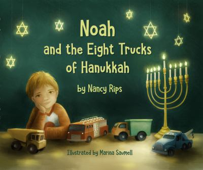 Noah and the Eight Trucks of Hanukkah image cover