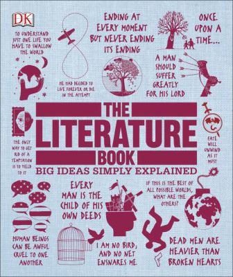 The literature book image cover