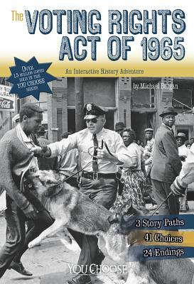The Voting Rights Act of 1965: An Interactive History Adventure image cover